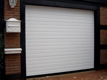 купить гаражные секционные ворота Alutech серии Trend
